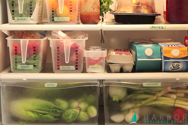 7 Hacks How To Organize Your Fridge Harbor Appliance